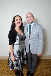 Shana Killips, sales manager for the James B. Henry Center for Executive Development at Michigan State University, and Aaron Wolowiec, founder and president of Event Garde.