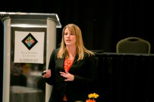 Kelly Van Dyke presenting June 18 at the Suburban Collection Showplace