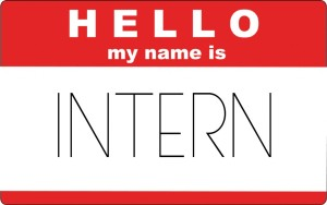 Intern name tag