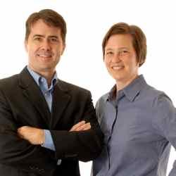 Jeff Cobb and Celisa Steele